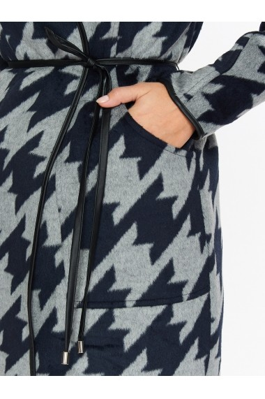 Palton Top Secret TOP-SPZ0413GR Print - els