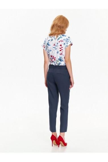 Pantaloni drepti Top Secret TOP-SSP2554GR bleumarin