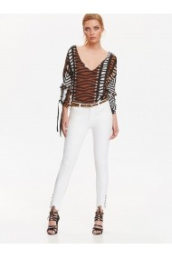 Pantaloni skinny Top Secret TOP-SSP2699BI Alb