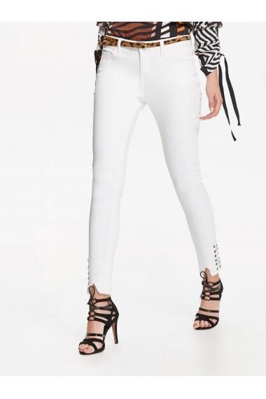 Pantaloni skinny Top Secret TOP-SSP2699BI Alb