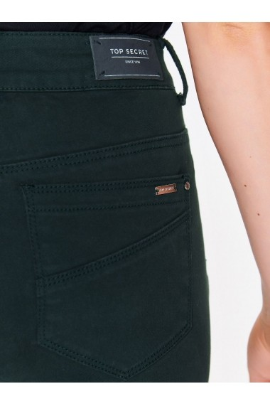 Pantaloni drepti Top Secret TOP-SSP2752CZ Verde