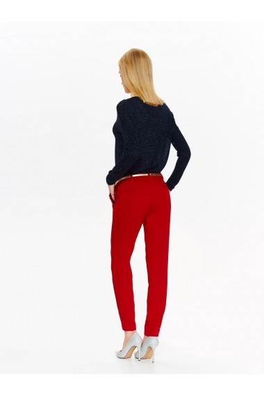 Pantaloni drepti Top Secret TOP-SSP2758CE Rosu - els