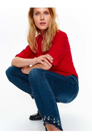 Jeansi skinny Top Secret TOP-SSP2799GR Bleumarin