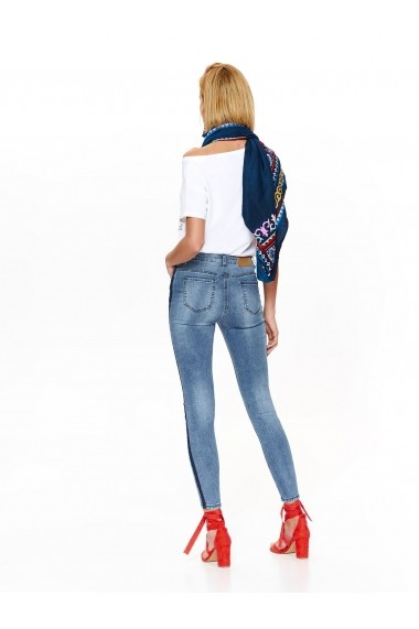 Pantaloni drepti Top Secret TOP-SSP2818NI albastru