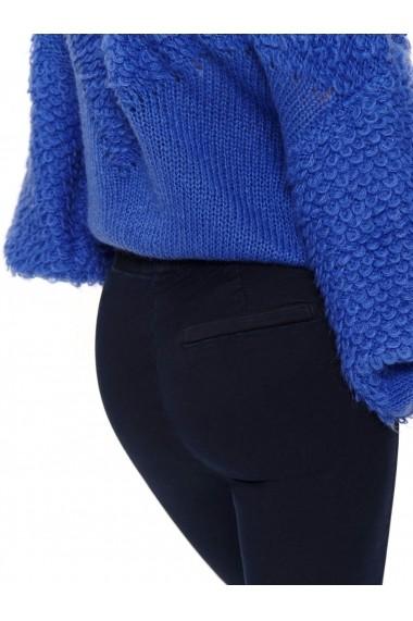Pantaloni drepti Top Secret TOP-SSP3116GR Bleumarin