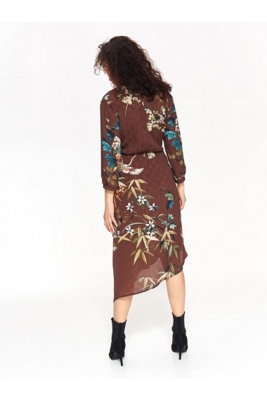 Rochie midi Top Secret TOP-SSU2641BR Floral