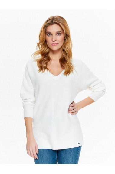 Pulover Top Secret TOP-SSW2325BI Alb - els