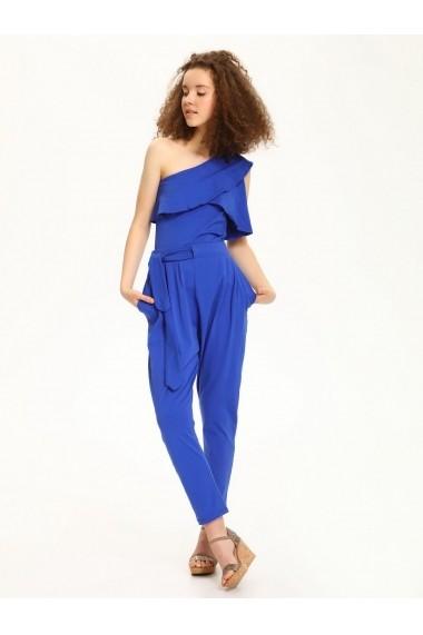 Pantaloni drepti Troll TOP-TSP1358NI Albastru