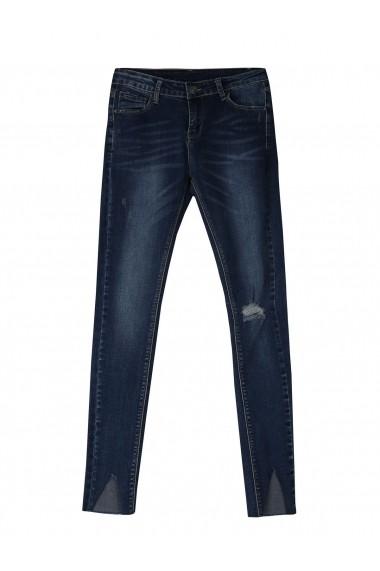 Jeansi Skinny Troll TOP-TSP1368GR Bleumarin