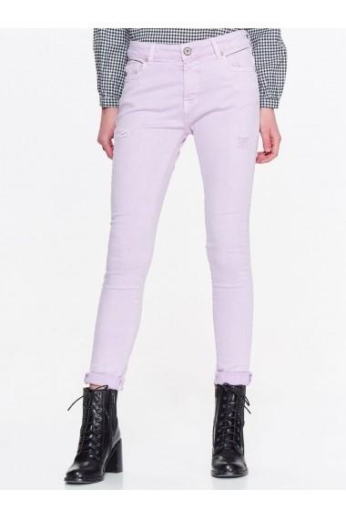 Pantaloni drepti Troll TOP-TSP1384FI Violet