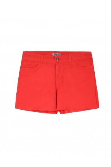 Pantaloni scurti Troll TOP-TSZ0182RO Roz