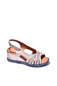 Sandale piele naturala Torino cod 131-016 roz sidef
