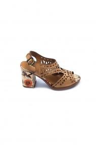Sandale piele naturala Torino cod 3375 maro