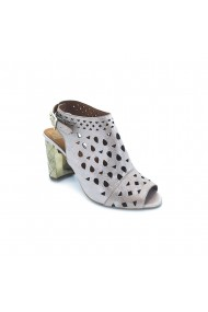 Sandale piele naturala Torino, cod 672-01 auriu