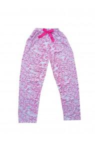 Pijama lungi de pijama din Bumbac Roz