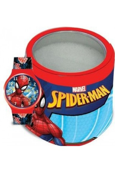 Ceas MARVEL KID WATCH Mod. SPIDERMAN - Tin Box