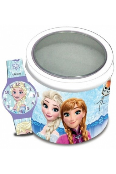 Ceas WALT DISNEY KID WATCH Mod. FROZEN - Tin box