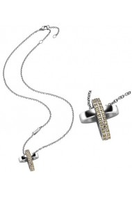 BREIL JEWELS CHARMING CROSS Collection With Swarovski
