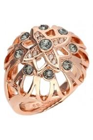 Inel GUESS UBR61012-54 roz-auriu