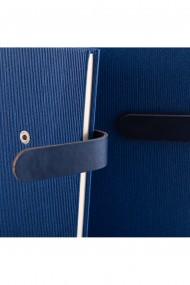 Notes Lux A5 hartie Ivory liniatura Albastru