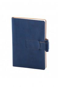 Notes Ravelo A5 hartie alba liniatura albastru