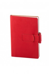 Notes Ravelo A5 hartie alba liniatura rosu