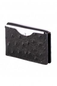 Portcard e-store MK piele naturala negru