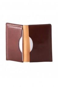 Portcard e-store piele naturala maro