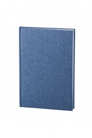 Set Natura notes A5 hartie alba liniatura albastru + pix