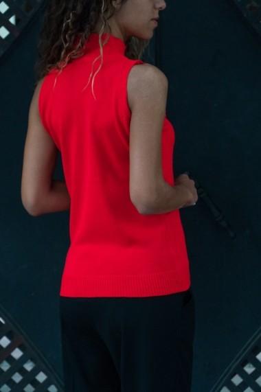 Pulover Alacati Style 8014-M rosu - els