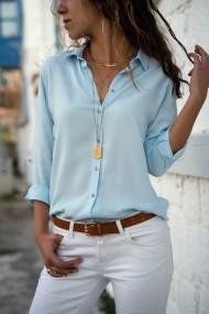 Camasa Alacati Style 2092-Y albastru