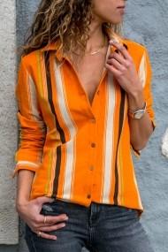 Camasa Alacati Style 2395-T portocaliu