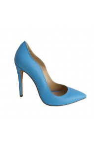 Pantofi stiletto pe toc de 11 cm culori pastel Veronesse 413