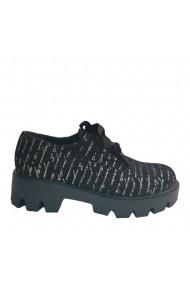 Pantof cu siret Veronesse Miruna si talpa matritata de 4.5 cm