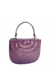Geanta Veronesse Sanda - geanta ovala din piele naturala