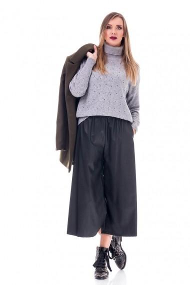 Pantaloni largi Petra DoubleYou Store DBL-WFPP01 negru