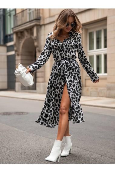 Rochie print Leopard, XMADE