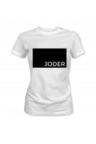 Tricou dama Alb XMADE ''Joder''