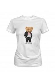 Tricou dama Alb XMADE ''Teddy''
