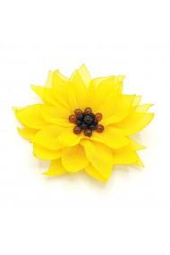 Agrafa par floarea soarelui