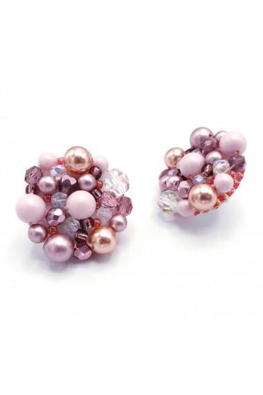 Cercei statement roz Pink Drops