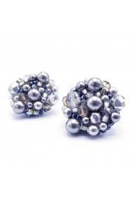 Cercei argintii eleganti Silver Drops