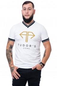 Tricou Tudor`s Home alb