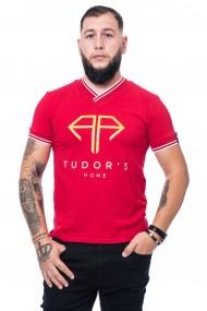 Tricou Tudor`s Home rosu