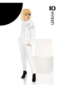 Pantaloni dama albi URBAN10