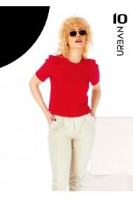 Bluza rosie URBAN10 cu maneca scurta