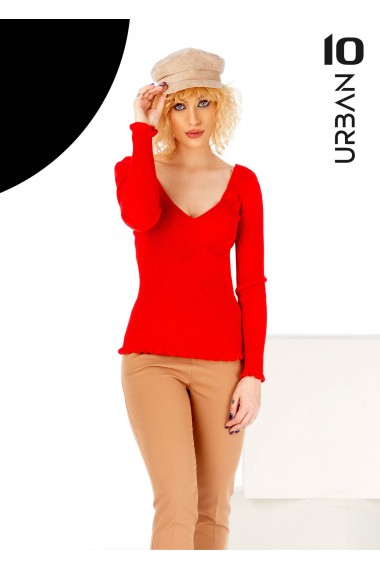 Bluza rosie cu anchior URBAN10