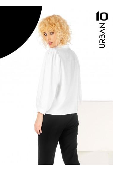 Bluza alba cu guler URBAN10