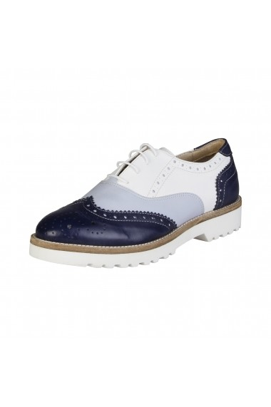 Pantofi Made in Italia NILDE_BLU_JEANS_BIANCO bleumarin