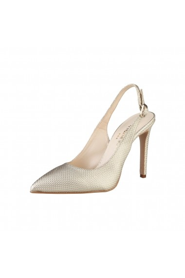 Sandale cu toc Made in Italia ADRIA JUTE Argintiu
